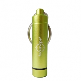 Dry Herb Pod Container Keyholder (incl. 2 Herb Pods) *green*