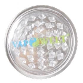 Vapowelt Grinder 3-pieces white (50 mm)